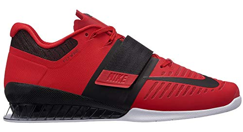 Nike Romaleos 3 Mens Weighlifting Shoes (15, University Red/Black/White)