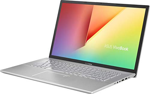 ASUS Notebook (17.3 Zoll Full HD Matt) Intel Core i7 10510U 8-Thread bis zu 4.90 GHz, 12GB RAM, 512GB SSD M.2 + 1000GB HDD, Intel UHD Graphics, HDMI, Windows 10 Pro Silber