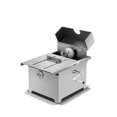 Annodatrice per legare salsicce, legatrice manuale per involucri di salsicce, piccola macchina per legare salsicce affumicate Macchina per legare salsicce (diametro massimo della salsiccia: 50 mm)