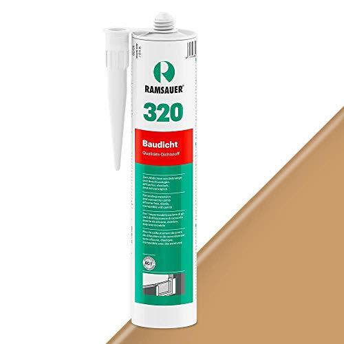 Ramsauer 320 Baudicht 1K Hybrid Dichtstoff 310ml Kartusche (Eiche Dunkel)