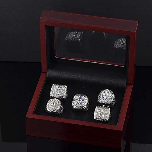 C-G Mode Kreative Ring Dallas Cowboys Super Bowl Meisterschaft Ring Set Fans Souvenir Ring, 10