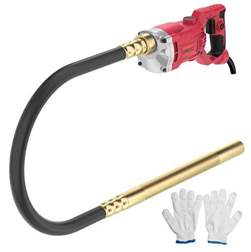 IMAYCC Vibrador de Hormigón, Actualizado 1500W Vibrador, Vibrador de...