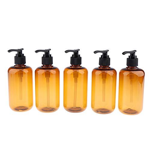 MERIGLARE 5 Piezas Botella de Spray Vacía Cosmética Maquillaje Perfume de Viaje Loción - 300ml