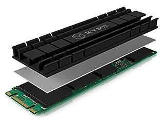 Icy Box, flacher Kühlkörper mit 5 mm Bauhöhe für M.2 SSD (2280)