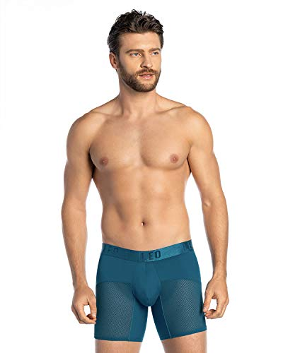 Active Mesh Ergonomic Boxer Brief Blue