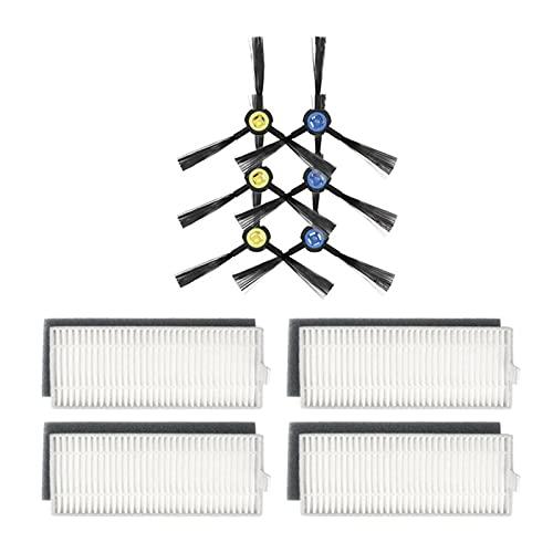 Piezas de repuesto para robot limpiador de aspiradora de repuesto para aspiradora de Silvercrest SSRA 1 Robot Partes de aspirador Filtro de fregona Reemplazo (color : estilo F)