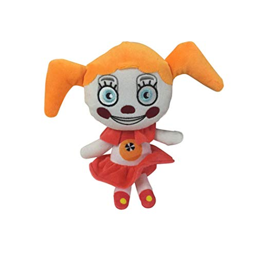 Five Nights at Freddy's Plush ToysAll Character Freddy Bear Bonnie Chica Foxy FNAF Stuffed Animal Doll Children's Gift Collection ByHENG-US (Baby Plush)