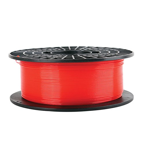 CoLiDo Rode PLA 3D Printer Doorschijnende Filament Spool - 1.75mm diameter / 1kg