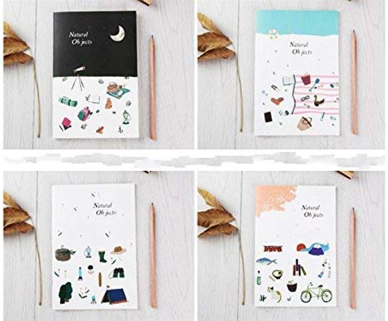 YUHUS Home 4 STÜCKE Geeignet Kreative Naturlandschaft Persönliches Tagebuch und Zeitschriften für Home School Office TraveL B07LCXBYRM  | Zahlreiche In Vielfalt