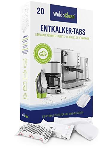 Entkalkungstabletten 20x 16g für Kaffeevollautomaten - kompatibel mit sämtlichen Kaffeemaschinen