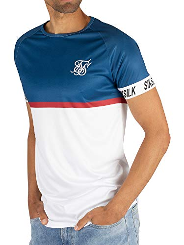 L//S Poly Slub Turtle Neck Camiseta Manga Larga Cuello Subido SS 15163 Sik Silk Hombre