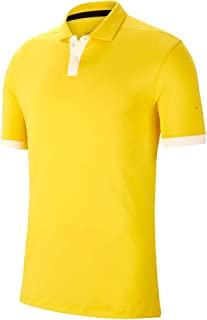 Nike Dri Fit Vapor Solid OLC Golf Polo 2019 Chrome Yellow/Sail ...