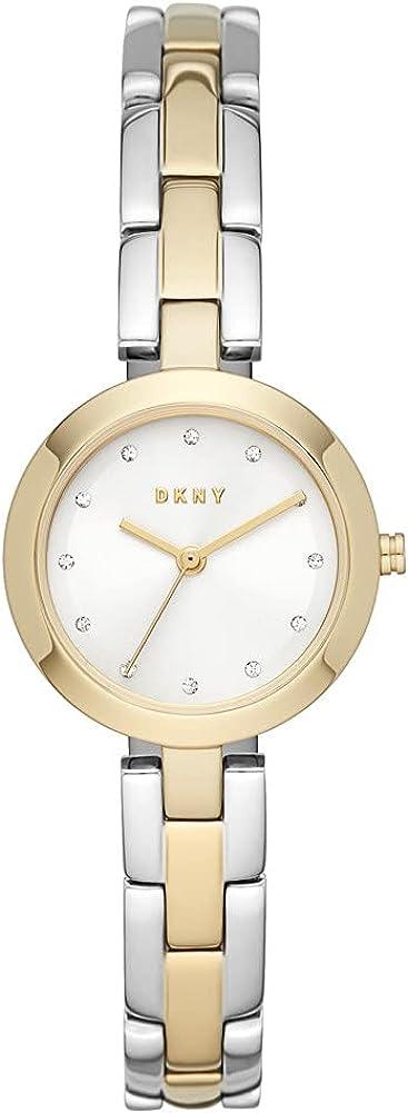DKNY Damenuhren Analog Quarz One Size Gold 32015116