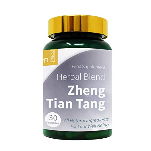 GinSen Zheng Tian Tang Helps with Headache Relief, Chronic Headache, Pain Killers, Throbbing & Sore Headaches, Natural Supplement, Chinese Medicine, Made in UK (60 Capsules)