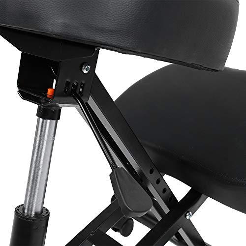 Silla Posture, Durable Houshold Silla ergonómica ergonómica, Silla ergonómica para arrodillarse Taburete de Rodilla Ajustable para Cojines de Oficina en casa Asiento de Postura en ángulo