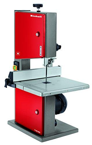 Einhell Bandsäge TC-SB 200 (180 W, Sägeband 140 cm, max. Schnitthöhe 80 mm, Tischgröße 300x300 mm, neigbarer Sägetisch)