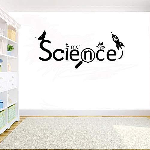 Wissenschaft Kreative Inspirierende Wörter Diy Lernen Lernen Bildung Kunstschule Klassenzimmertür Sweet Home Zitat Wandtattoo Wasserdichter Wandaufkleber Wandaufkleber Für Die Dekoration Des Wohnzim