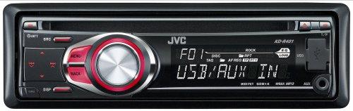 JVC KD-R 401 MP3-CD-Tuner (Front AUX, USB) schwarz