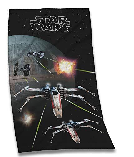 Tex idea Star Wars Todesstern Yoka Luke Lea Badetuch Sauna Handtuch 70 x 150 cm NEU Wow - All-In-One-Outlet-24 -