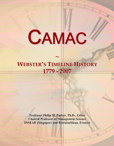 Camac: Webster's Timeline History, 1779 - 2007