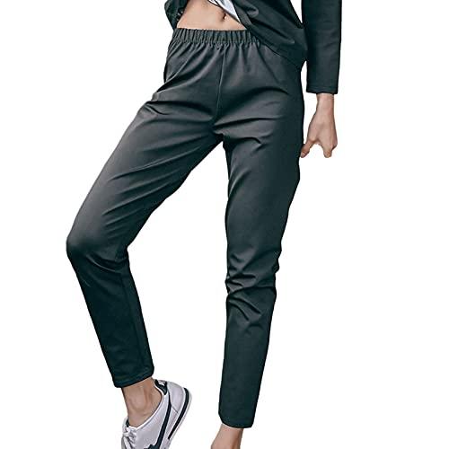 Hhwei Pantalón de Sudoración Adelgazante Cintura Alta Mujer Leggins Cintura Alta Pantalones de Sauna