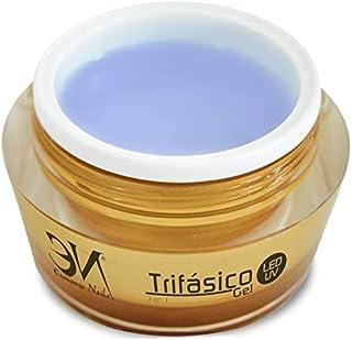 UVLed Gel Trifasico 50ml de Economic Nails | Gel 3en1 para uñas | Super Resistente y Ultra Brillo