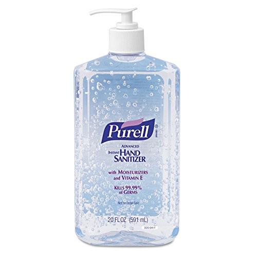 PURELL 302312EA Advanced Instant Hand Sanitizer, 20oz Pump Bottle