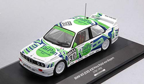CMR CLASSIC MODEL REPLICARS Model Compatibile con BMW M3 N.30 DTM 1992 Prinz Poldi VON Bayern 1:43DIECAST CMR43057