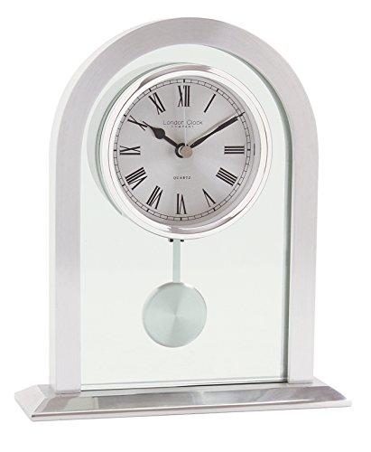 London Clock Pendel Pendel, 19,5 x 16,5 x 5 cm, silberfarben