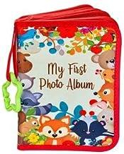 ToddleBee Baby Photo Album - Soft Baby Book First Year Baby Photo Book   My First Book of Photos with Woodland Animals - B...
