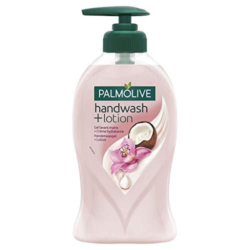 Palmolive Pump Hände Reinigungsgel + Creme Feuchtigkeitsspend Parfüm Orchida © S & Coco 250ml (Lot 10) 1