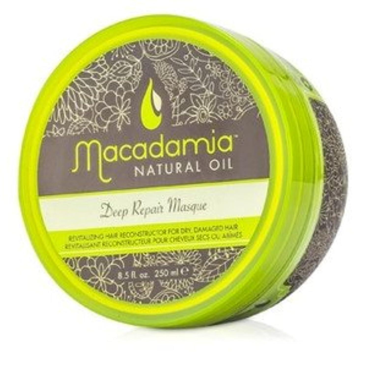 注釈注釈海賊マカダミア ナチュラルオイル(Macadamia NATURAL OIL) ディープリペアマスク(ドライ、ダメージヘア) 250ml/8.5oz [並行輸入品]
