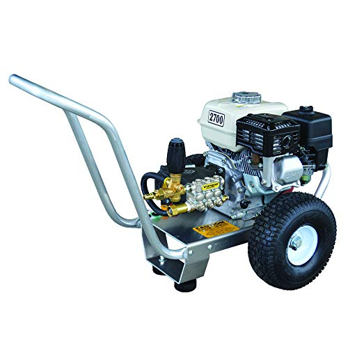 PressurePro Eagle Series Cold Water Direct Drive Pressure Washer, 2700 PSI, 3.0 GPM, GX200 Honda Engine, Viper Pump