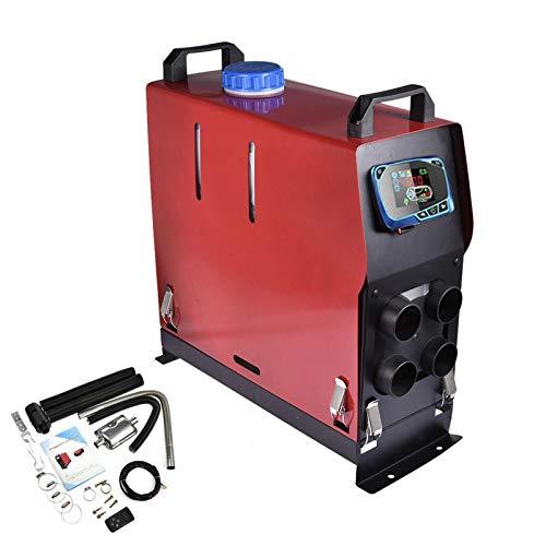 Diesel-Luftheizung 24V 8KW Fahrzeugheizungsset, Diesel-Standheizung, LCD-Display, Fernbedienung, Geräuscharmer Und Kraftstoffarmer Verbrauch, Schnelle Heizlüfterheizung Für LKW, Wohnmobil, Auto