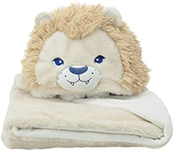 Soft Landing Everyday Escapes Character Weighted Blanket (Lion)