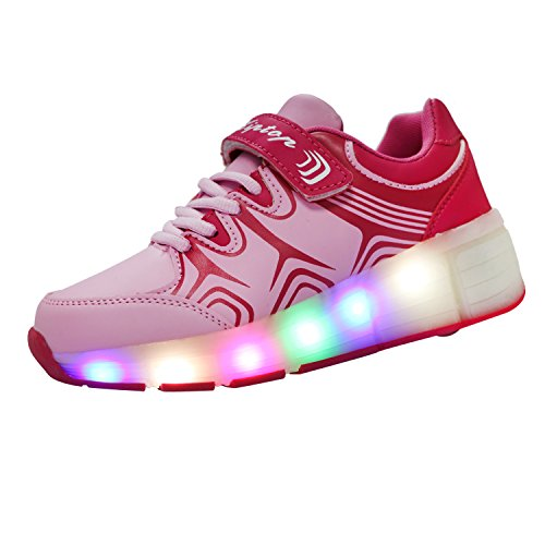 KIPTOP-Zapatillas con Ruedas led 5...