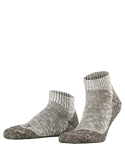 FALKE Herren Lodge Homepad M Hp Stoppersocken, Grau (Light Grey Melange 3390), 43-44 (UK 8.5-9.5 Ι US 9.5-10.5)