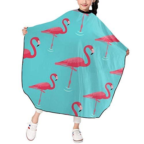 Vintage Flamingos Haarschneiden Cape Kids Salon Haarschnitt Styling Kittel Abdeckung...