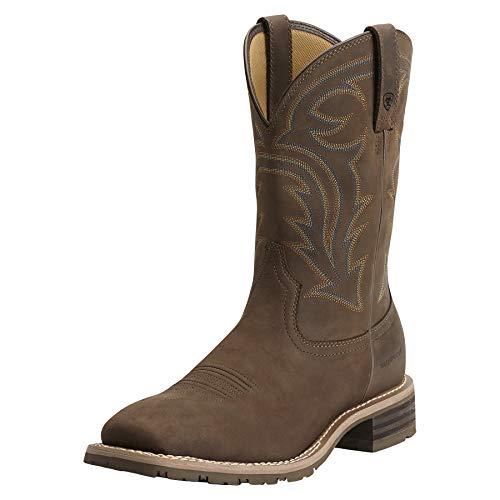 Ariat Hybrid Rancher Waterproof Western Boot – Men's Leather, Western Boots