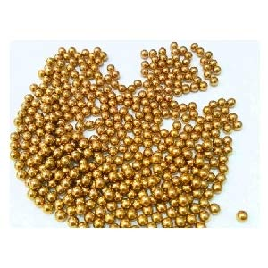 "VXB Brand Pack of 100 Bearing Balls 2.2mm = 0.086"" Inches Diameter Loose Solid Bronze/Brass Size: 2.2mm = 0.086"" inch Material: Bronze/Brass (H62) Quantity: 100 Balls"