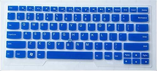 Durable keyboard stickers Laptop Keyboard Cover Protector For Lenovo ThinkPad T480 E485 T475 E475 E470 T480 T470s T470 E431 T440p T430 T470 e480 e445 e450 Keyboard accessories (Color : Blue)