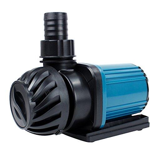 AQUANEAT 1200GPH Aquarium Pond Pump Submersible Water Pump Inline Adjustable Fountain Pump Waterfall Koi Filter Hydroponics