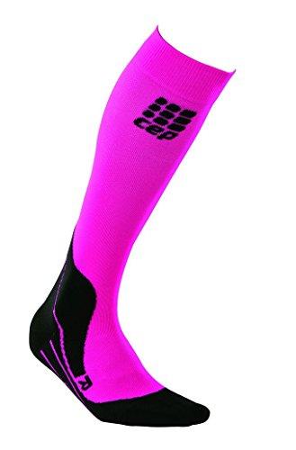 CEP Damen Strumpf Pro Plus Riding Socks Women, Pink, II