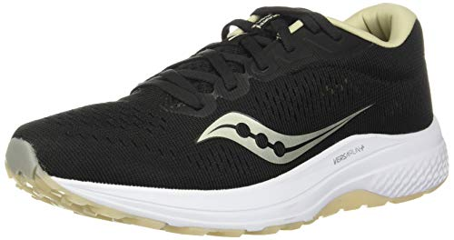 Saucony Clarion 2 Black/Tan, Zapatillas de Atletismo Mujer