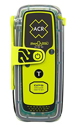 acr ResQLink 400 - SOS Personal Locator Beacon with GPS (Model: PLB-400) 2921