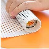 Zonster 1PC Sushi Roller Cocina portátil Sushi de DIY Rodillo Fabricante de la Herramienta del Molde Alga nori Sushi Cortina no mohosa Salud