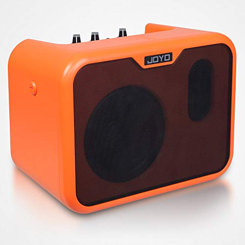 JOYO MA-10A Acoustic Guitar Amplifier Portable Mini AMP with Aux In Stereo Headphone Output Jack for Guitar Players