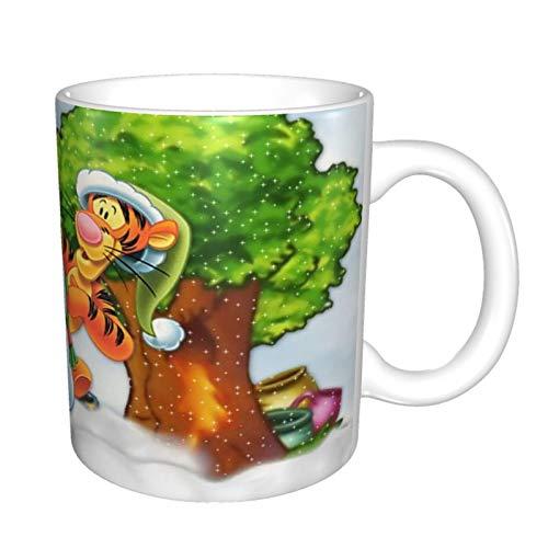 Winnie The Pooh Regalos de Navidad para hermano | Regalo de hermano | Big Brothers Presents from Brother.Little Brother Birthday.Funny Coffee Mug Ideas.Happy Funny Mug from Sister