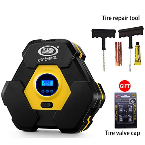 Pompen voor autobanden, 12 V, elektrisch, draagbaar, snel oppompen, stroomvoorziening voor auto.
