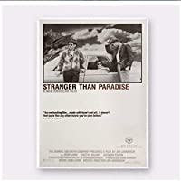 Qwgykr Stranger Than Paradise Movie Art Posters Painting Print Living Room Home Decoration -40X60 Cm No Frame